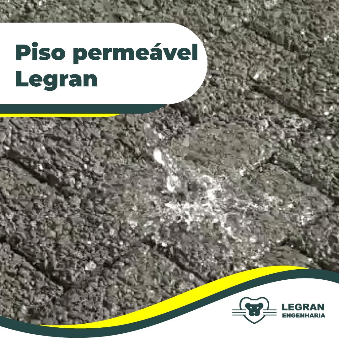 Piso permeável Legran
